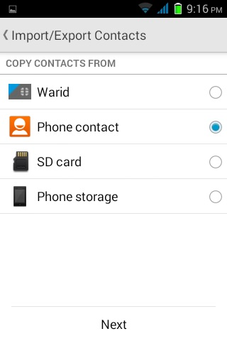 Google Contacts Backup and Restore | Notes