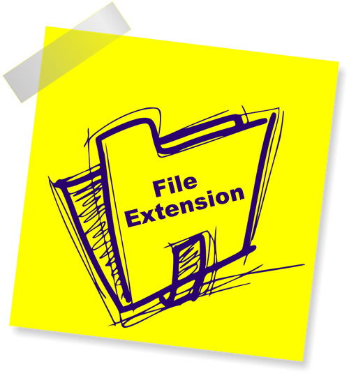 how to make it show file extensions in windows 10