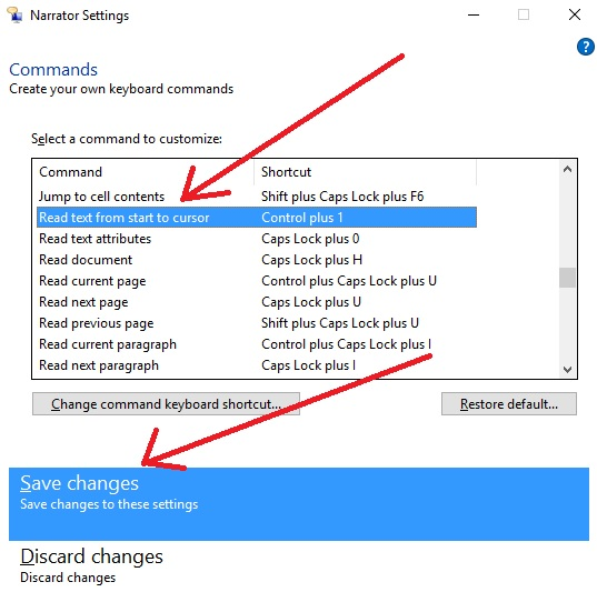 Text To Speech in Windows 10   Notes