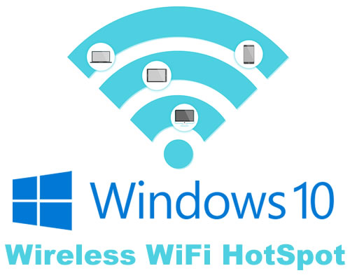 Turn Windows 10 computer into a WiFi HotSpot to share