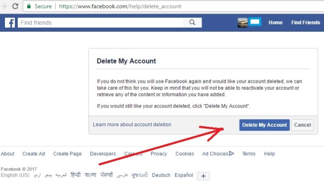 Permanently delete facebook account notes 2 ccuart Gallery