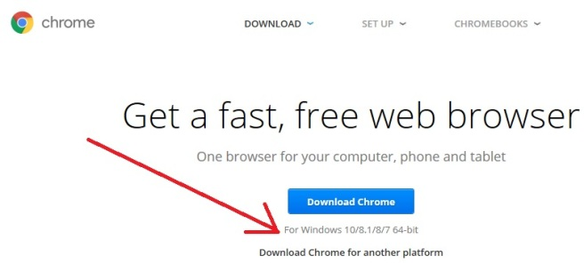 google chrome browser for windows 10 64 bit download