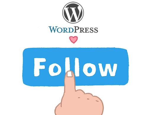 wordpress website log in