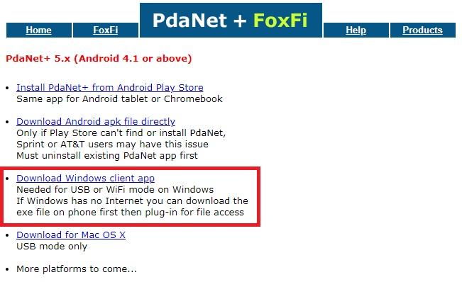 Pdanet foxfi download | Free FoxFi (WiFi Tether) APK Full Download