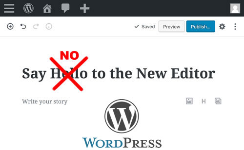 Revert Back To Old WordPress com Classic Editor | Notes