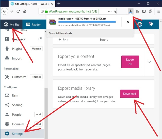 Use Firefox Browser Instead Of Chrome To Fix WordPress com